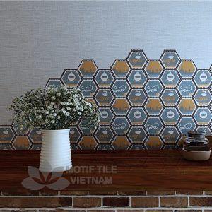 Gạch bông porcelain Hex-PP021