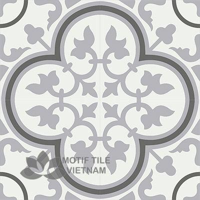 Gạch bông CTS 2.16(4-9-13) - 4 viên - Encaustic cement tile CTS 2.16(4-9-13)-4 tiles
