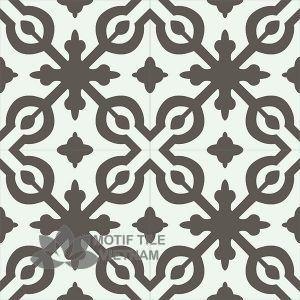 Gạch bông CTS 22.8(4-28)-4 viên - Encaustic cement tile CTS 22.8(4-28)-4 tiles