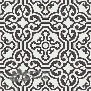 Gạch bông CTS 151.1(4-13) - 4 viên - Encaustic cement tile CTS 151.1(4-13)-4 tiles
