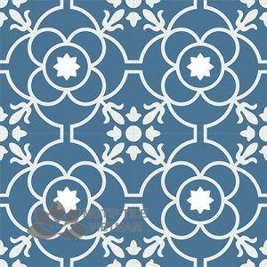 Gạch bông CTS 51.6(1-4) - 4 viên - Encaustic cement tile CTS 51.6(1-4)-4 tiles