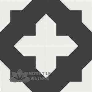 Gạch bông CTS 69.1(4-13) - 4 viên - Encaustic cement tile CTS 69.1(4-13)-4 tiles