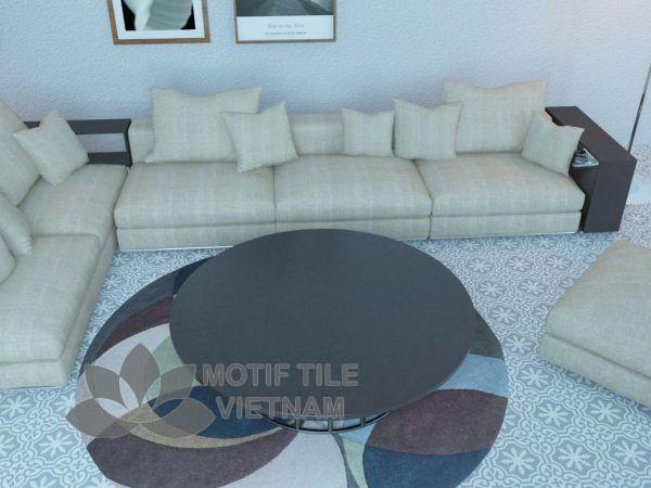 Gạch xi măng thủ công CTS 1.9 lát nền phòng khách
