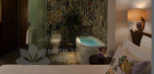 Gạch bông ốp phòng tắm 2