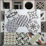 Gạch bông porcelain trang trí Hex-PP009