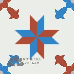 Gạch bông CTS 93.1(4-8-9-30) – Encaustic cement tile CTS 93.1(4-8-9-30)