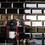 Gạch subway đen 10x20cm SW1020V(Black) ốp bếp