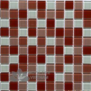 Gạch Mosaic Thủy Tinh 25X25X4Mm Mt-Mh 2588