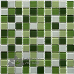 Gạch Mosaic Thủy Tinh 25X25X4Mm Mt-Mh 2589
