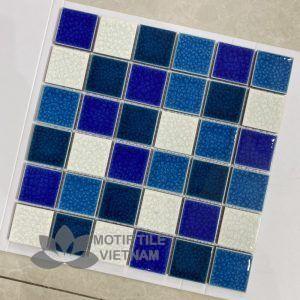 Gạch Mosaic Gốm Sứ 48X48X6Mm Mt-Mhg 956